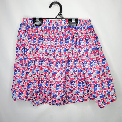 Gap Skirt Hearts, Blue Pin, size 12