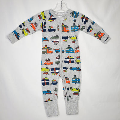 BONDS Wondersuit Camp, Grey, NEW size 0-3m