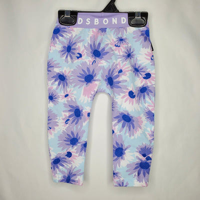 BONDS Leggings Floral, Lilac, size 18-24m