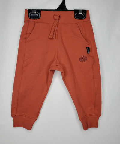 BONDS Track Pant NEW, Rust, size 3-6m