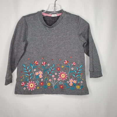 Floral Dress, Grey, size 18m