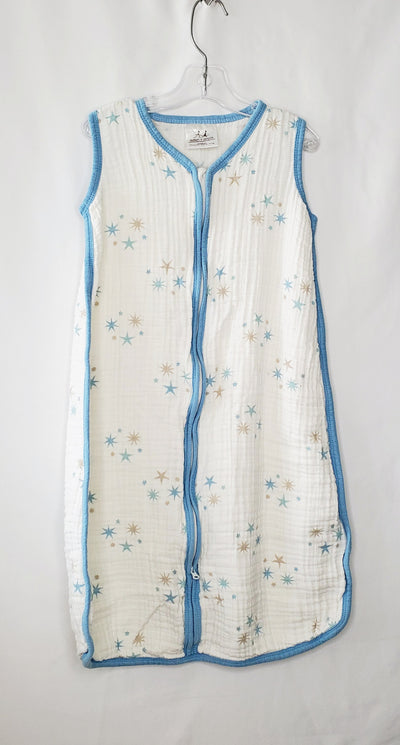 Aden And Anais Stars, White Blue, size 6-12m