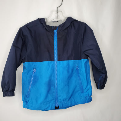 Gap Lined Wind Coat, Blue, size 18-24m