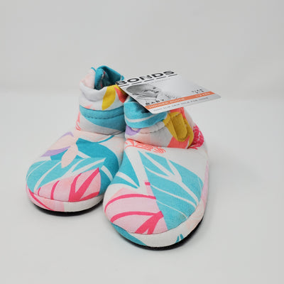 BONDS Slipper NEW, Floral, size 1-2 Yrs
