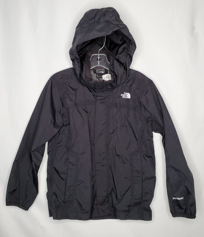 North Face Rain Coat, Black, size 7
