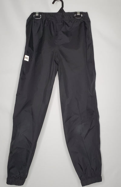 MEC Rain Pants, Black, size 10