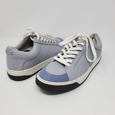 Top Shop Leather Shoe, Blue, size 9
