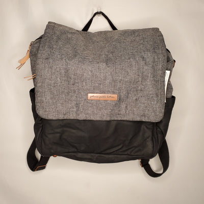 PPB Backpack Diaper Bag, Grey/blk, size $250