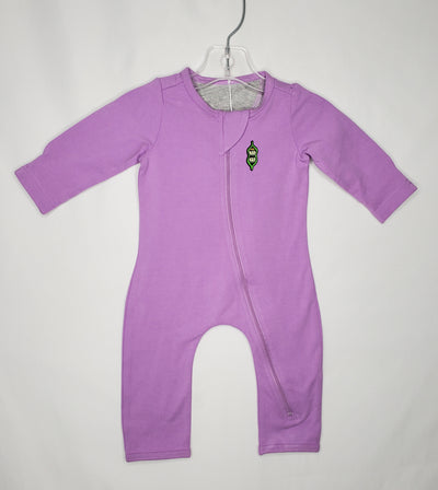 Peekaboo Beans Playsuit, Lilac NW, size 3-6m