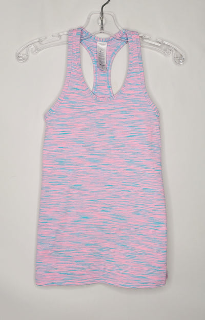 Ivivva Tank Top, Pink/Blue, size 7