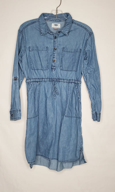 Old Navy Denim Dress, Blue, size 8