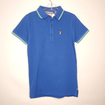 NEW Next Polo Top, Blue, size 9