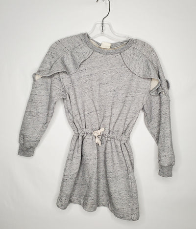 Zara Sweat To Dress, Grey, size 6