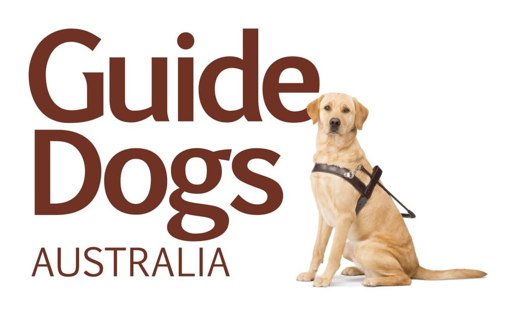 1% of proceeds to be donated to The Guide Dogs Australia Foundation