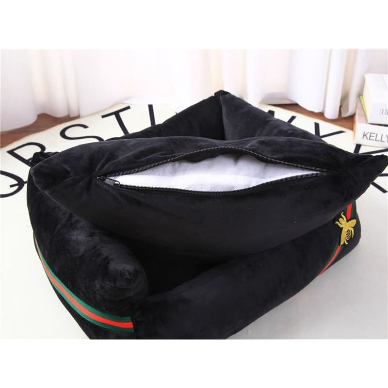 Guccci Inspired Dog Bed