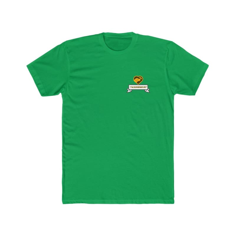 Mens Cotton Crew Tee - Solid Kelly Green / XS - T-Shirt