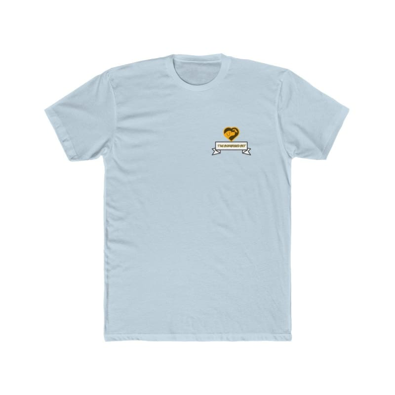 Mens Cotton Crew Tee - Solid Light Blue / XS - T-Shirt