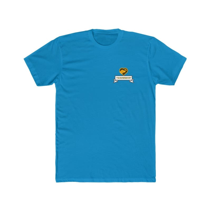 Mens Cotton Crew Tee - Solid Turquoise / XS - T-Shirt