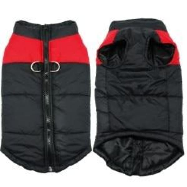 Padded Waterproof Vest - RED / 2XL
