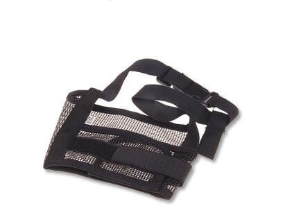 Adjustable Mesh Dog Safety Muzzle