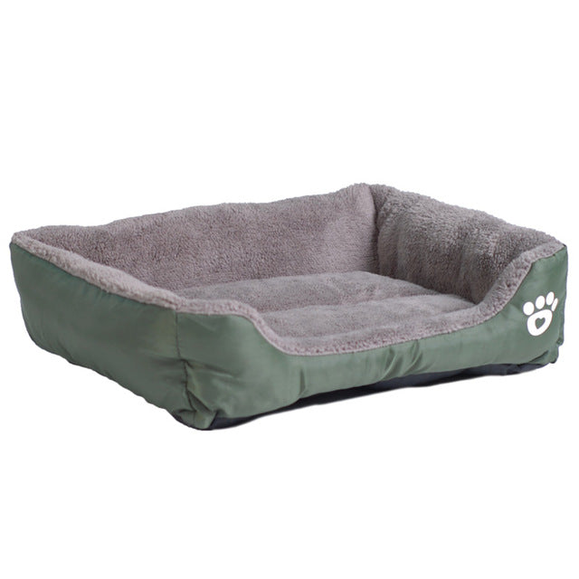 PAWSTRIP Dog Or Cat Cotton Fleece Bed with Waterproof Bottom - SALE