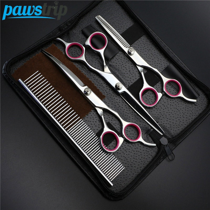PAWSTRIP 7 Inch Professional Pet Grooming Kit