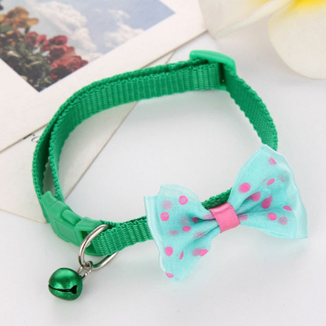 Nylon Adjustable Bow Collar