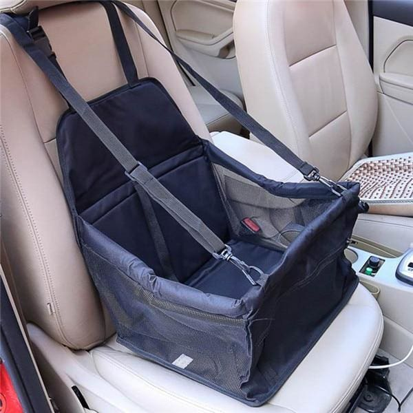 Single Dog/Cat Car Seat - Black / 40x30x25cm