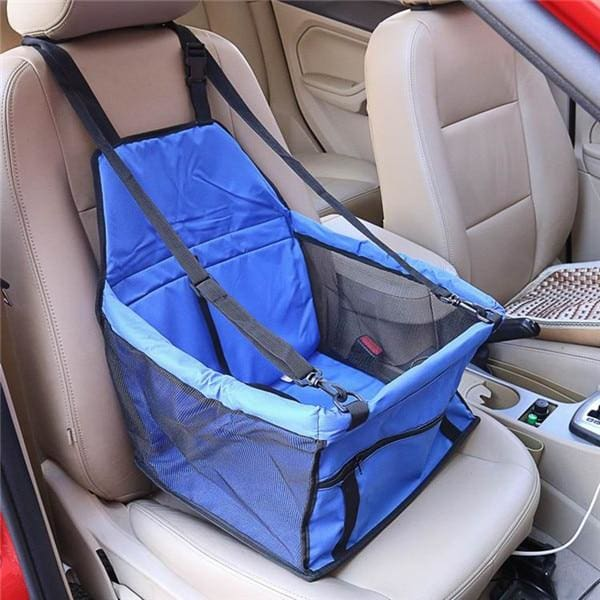 Single Dog/Cat Car Seat - Blue / 40x30x25cm