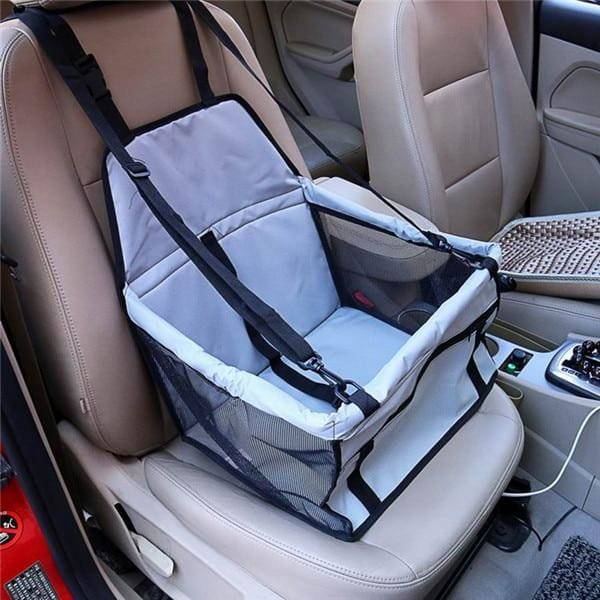 Single Dog/Cat Car Seat - Silver / 40x30x25cm