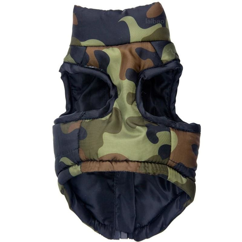 Waterproof Camo Dog Vest