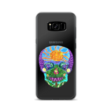 Tropical Sunset Sugar Skull Phone Case (Samsung)