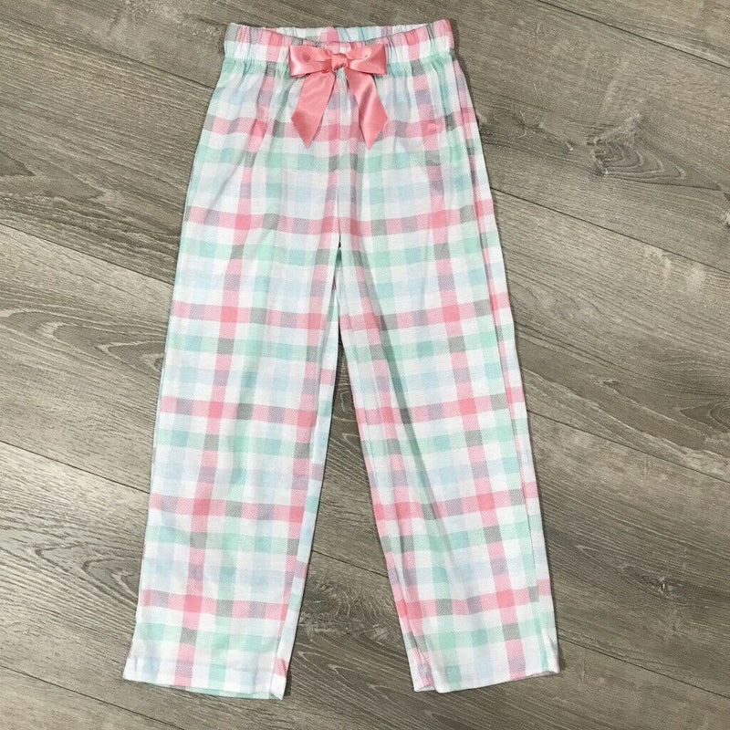 NEW Max & Olivia Little Girls Printed Pajama Pants, Sz S