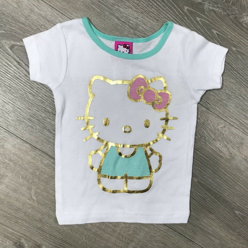 NEW Hello Kitty Cotton Pajama Top, Sz. 3T