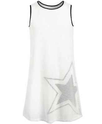 NEW Ideology Girls Graphic-Print Mesh Tank Dress, Sz. S, M, L, XL