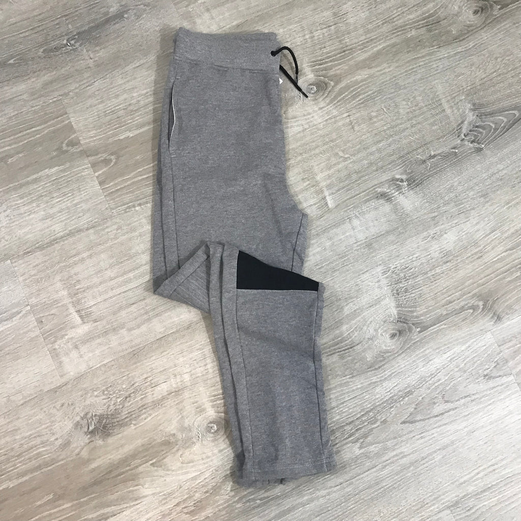 NEW IDEOLOGY Boys Sweatpants, Gray Size Large