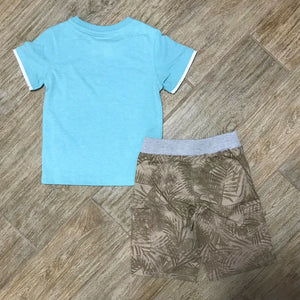 NEW Kids Headquarters Little Boys Graphic Print T-Shirt & Shorts Set, Size 4T