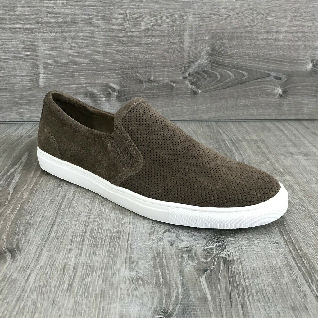 NIB $69 Bar III Men's Brant Slip-On Sneakers, Taupe Multiple Sizes