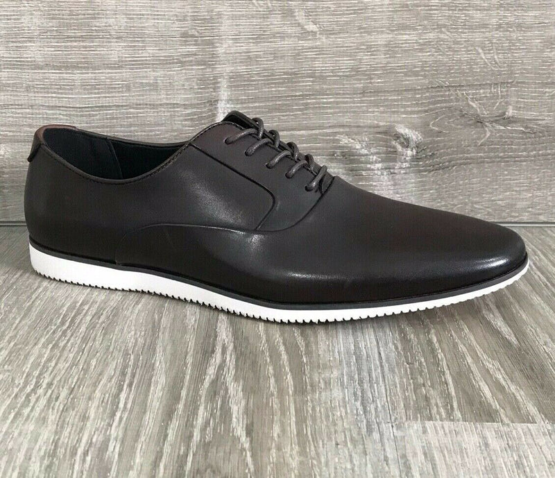 NIB $99 Bar III Men's Warner Casual Smooth Lace Up Shoes, Brown Multiple Sizes