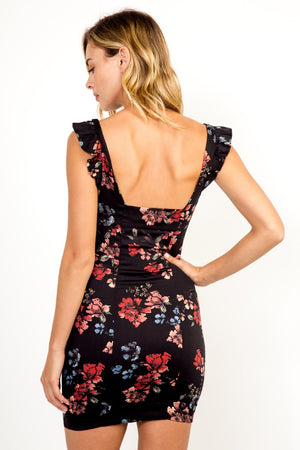 Alicia Floral Sweetheart Dress