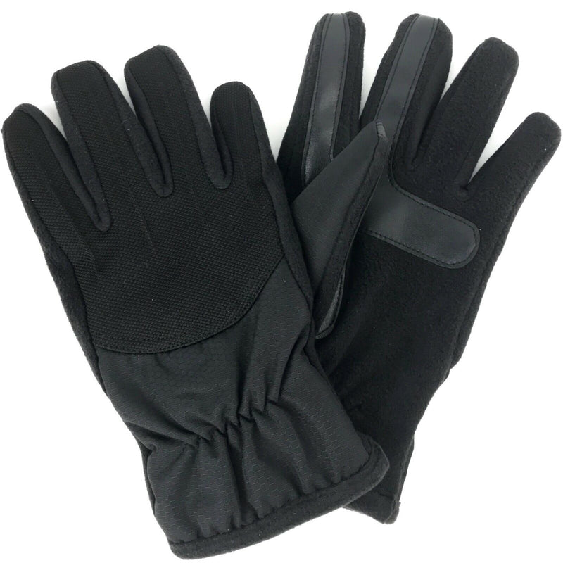 New Men's smarTouch Nylon Sport Gloves with Fleece Palm MSRP $55