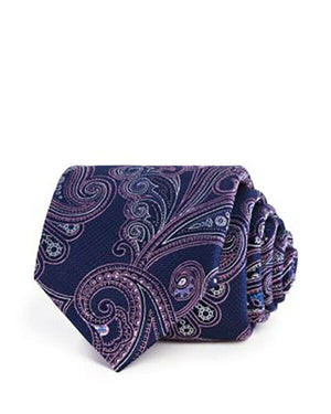 NWT THE MEN'S STORE AT BLOOMINGDALE'S Silk Large Paisley Tie