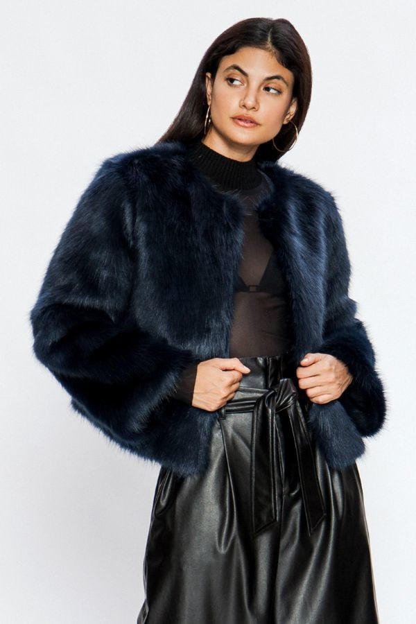 Darcie Faux Fur Jacket