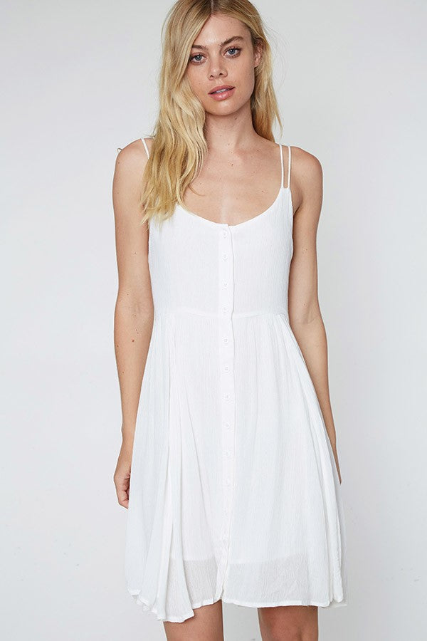 Clara Double Cami Strap Swing Dress