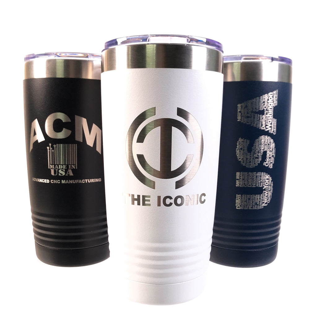 NEW Polar Camel Stainless Steel Personalized Company Logo Travel Tumbler