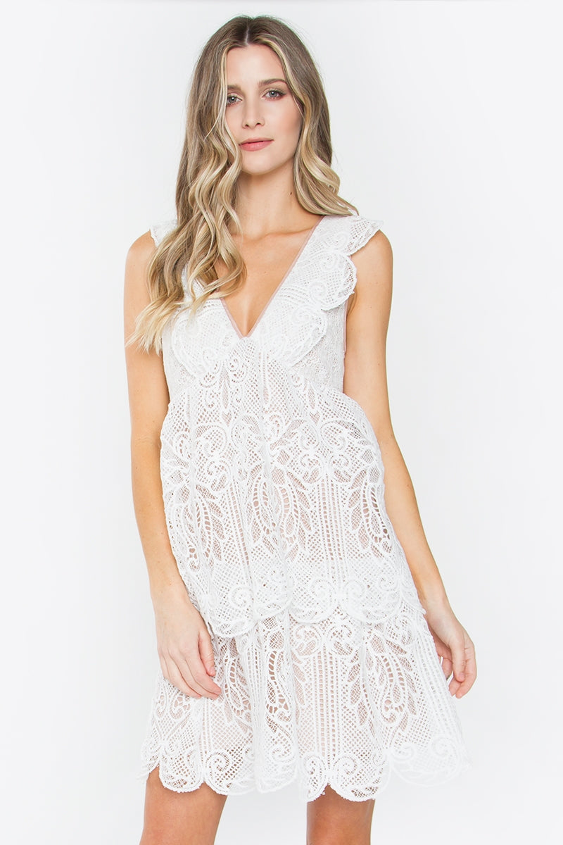 Melissa Royal Lace Dress