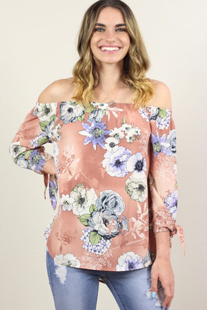 Eileen Off The Shoulder Tunic Top