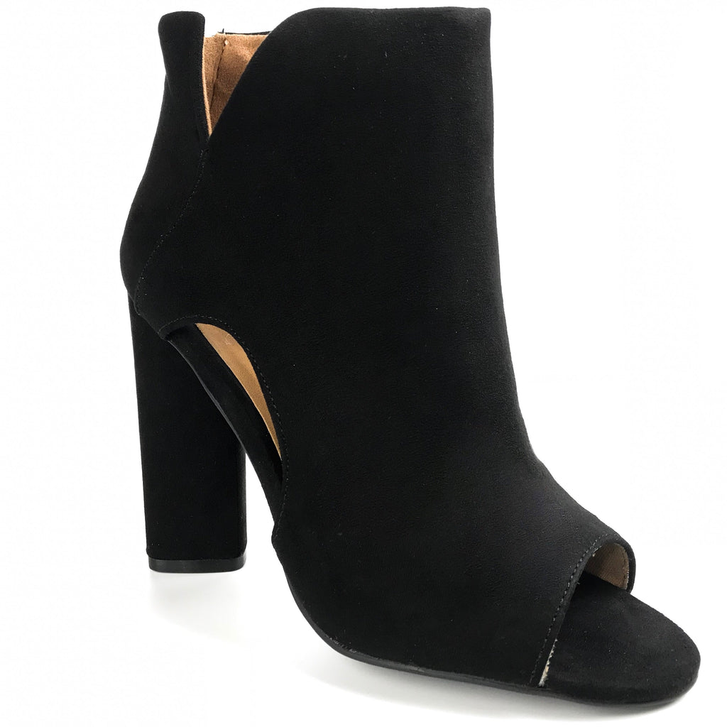 Annabelle Open Toe Booties