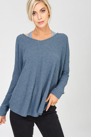 Makenzie Twisted Back Sweater