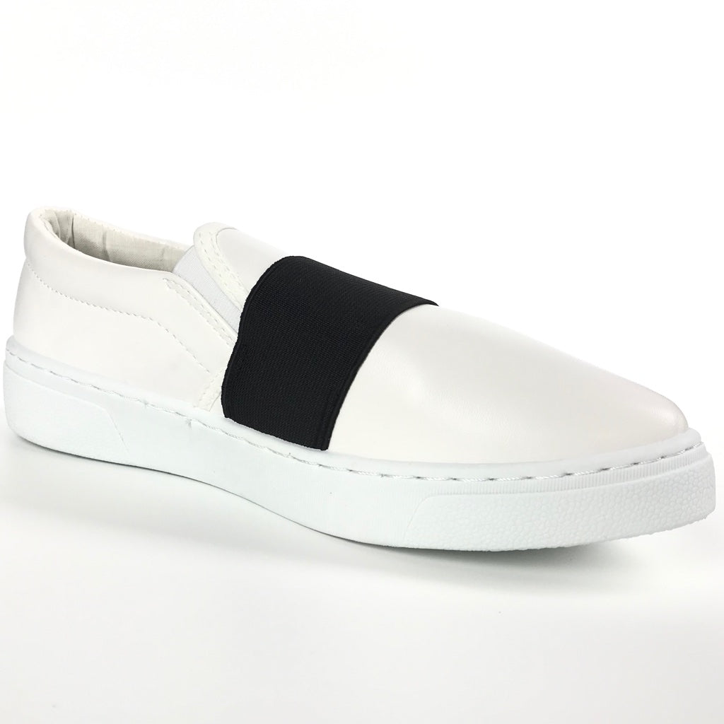 Ava Stripe Slip On Sneakers